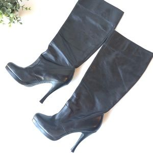 BCGB Black Leather Boots